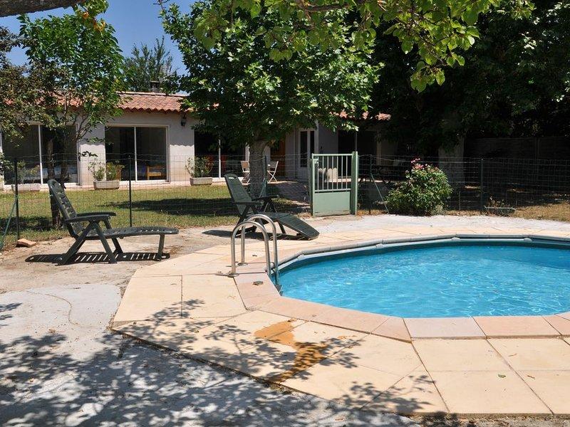 La Campagne, maison de 96 M² sur terrain 1000 m² avec piscine privative, clim, vacation rental in Aix-en-Provence