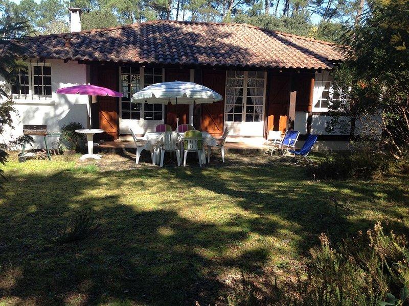 maison landaise avec jardin proche ocean - 6 personnes, casa vacanza a Orx