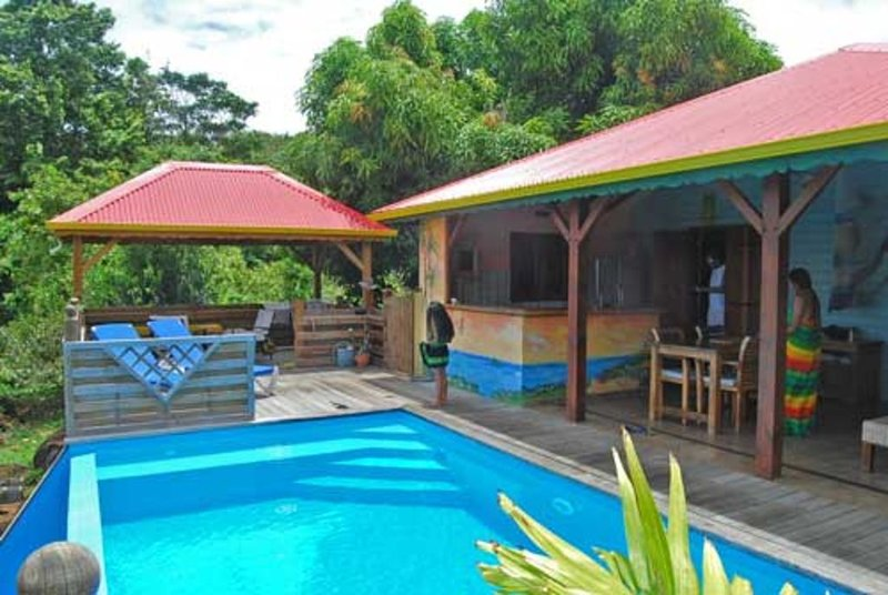 Villa Mangotine,  villa luxe a deshaies en Guadeloupe, vacation rental in Rifflet