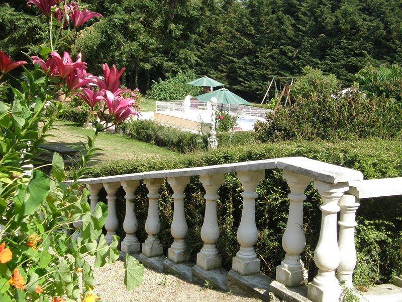 Gîte de Charme dans le  Manoir de La Fontaine Ménard, location de vacances à Quessoy