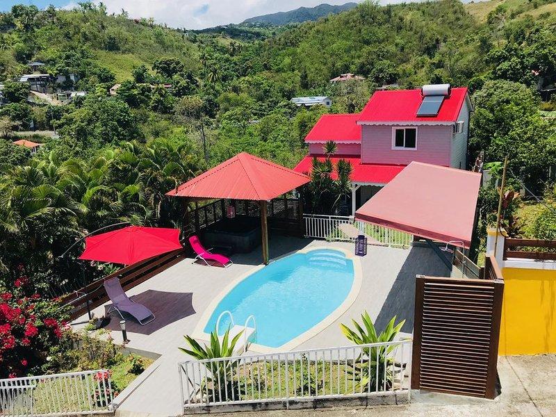 LE VAL DE LYS maison location saisonnière, vacation rental in Guadeloupe