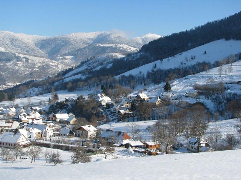 CHALET A LA FERME AVEC SAUNA au coeur du Massif des Vosges en Alsace, holiday rental in Husseren-Wesserling
