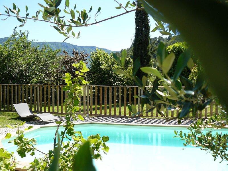 Tillleul & Compagnie*** Gîte de charme avec piscine 4-5 pers. – semesterbostad i Eygaliers