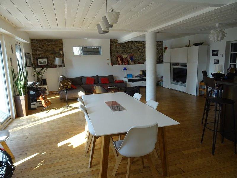 Grande maison familiale à Nantes - la campagne en ville..., vakantiewoning in Sautron