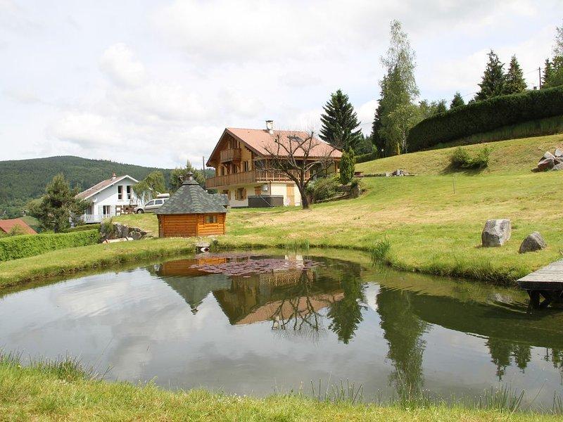 CHALET Centaurée- climatisé Rémy HEROLD, casa vacanza a Xonrupt-Longemer