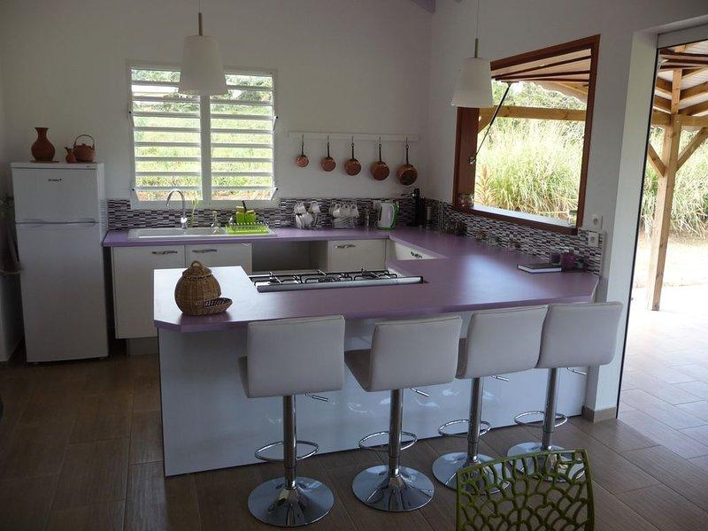 Maison de charme typique, vacation rental in Sainte Rose
