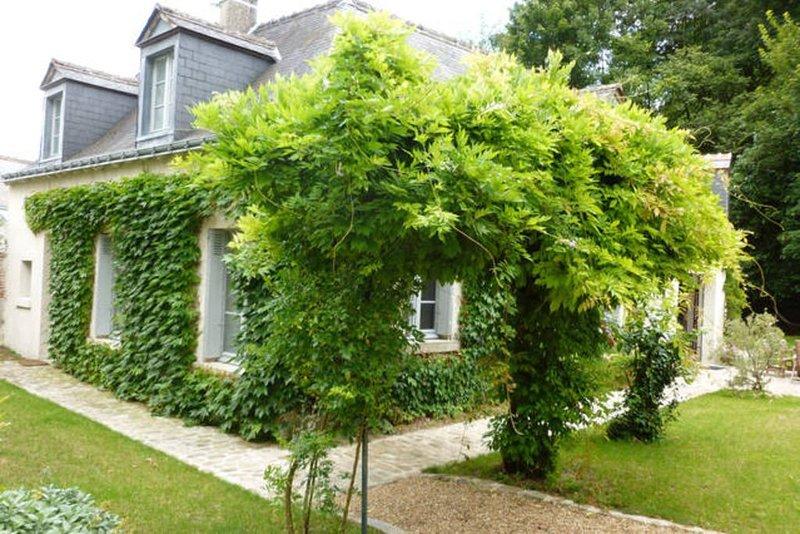 au coeur d'un village historique de Touraine, avec grand jardin et bosquet., holiday rental in Montlouis-sur-Loire