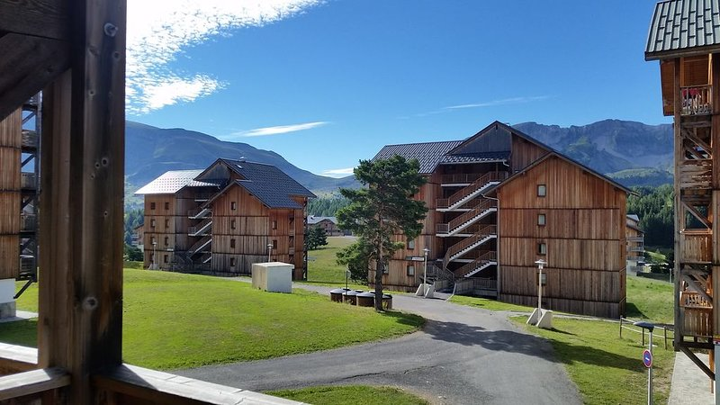 Location  T2  LA GENTIANE - PLEIN SUD + BALCON 5 M2, alquiler de vacaciones en Le Devoluy
