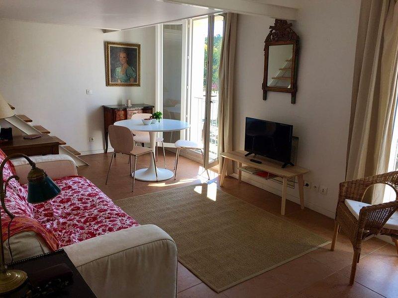 Appartement de charme au coeur du village, holiday rental in Hyeres