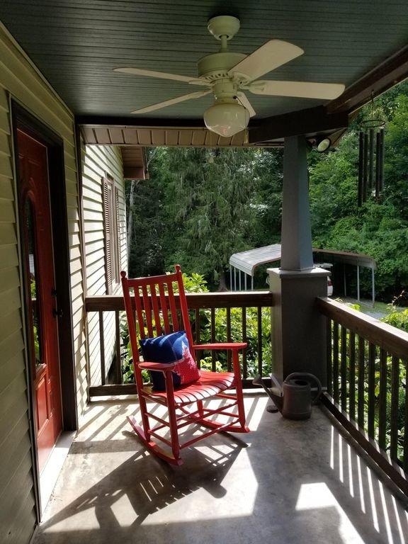 Soirée sur le porche