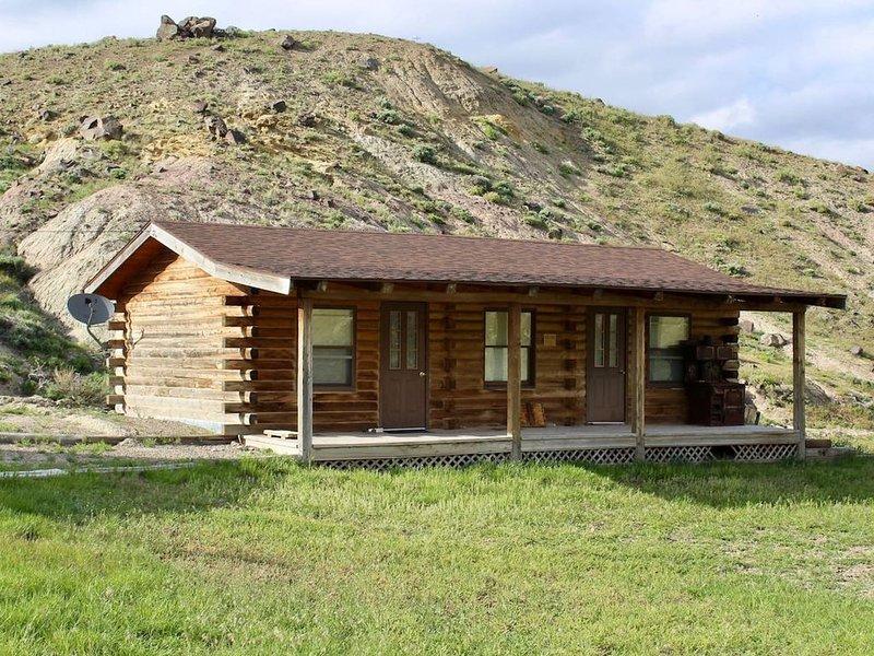 Charming Rustic Log Cabin near Yellowstone, vacation rental in Wapiti