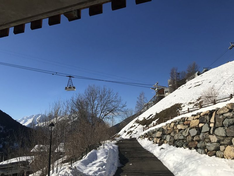 Vaujany (Alpe d'Huez ) - Luxury family apartment -7 people max, alquiler de vacaciones en Vaujany