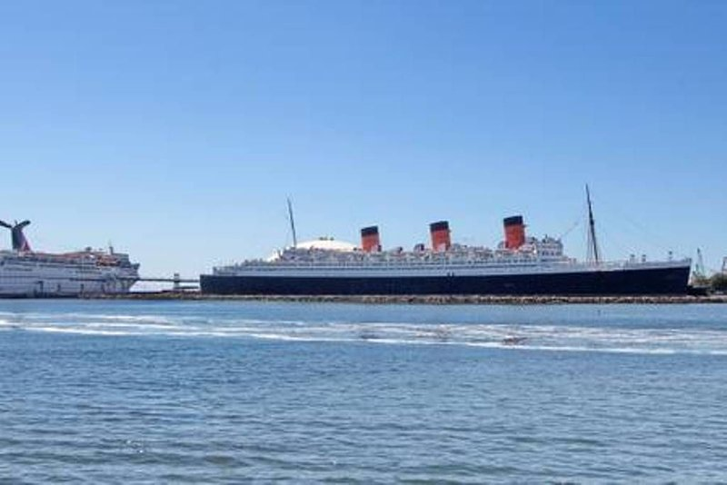 Can see the Queen Mary from the property...Amazing!!