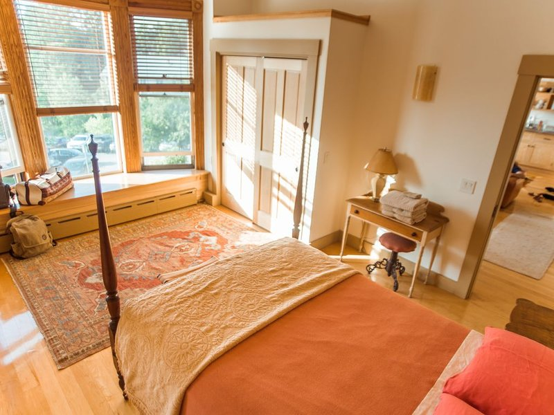 Contemporary Apartment in Historic 1895 Building, vacation rental in Craftsbury