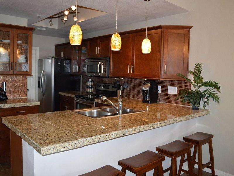 Fully furnished and updated kitchen