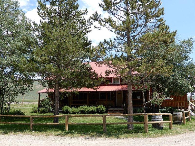 Authentic, charming Western Ranch, location de vacances à Bondurant