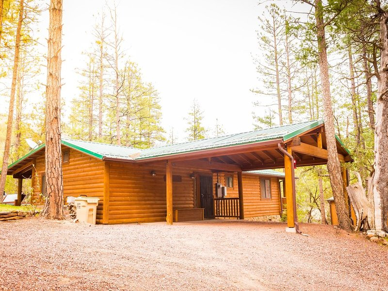 Tonto Creek Mountain Cabin - Great Views (Hot Tub and WiFi), alquiler vacacional en Star Valley