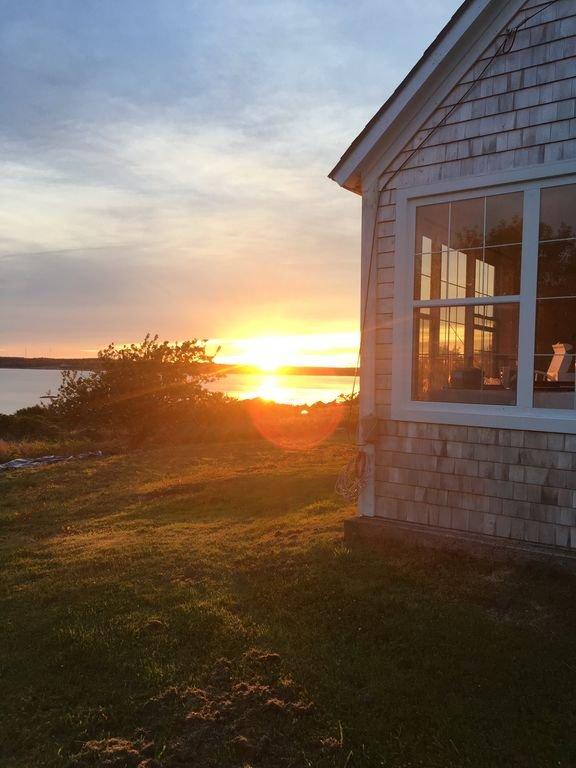 Solnedgång på Dory House