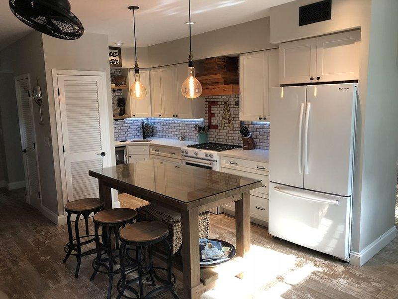 Updated Kitchen with Gas Range