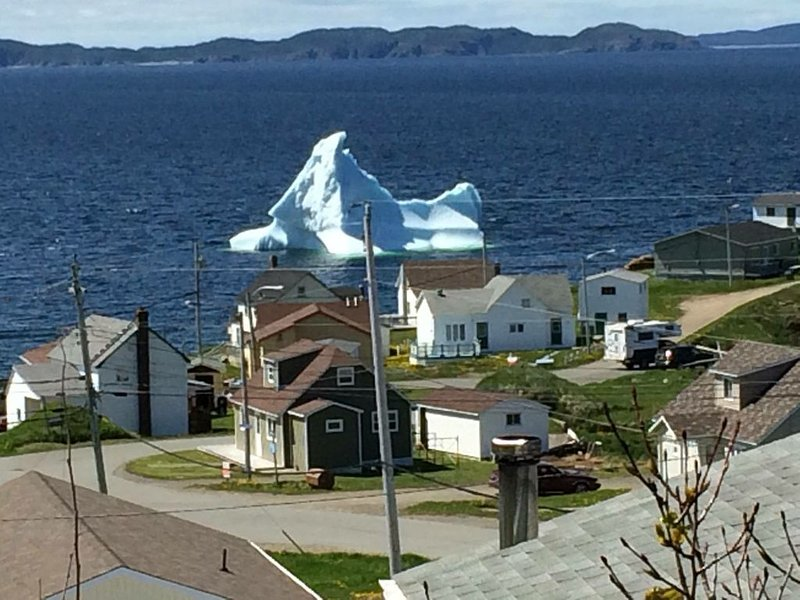 Enjoy our million-dollar ocean view with icebergs and whales!  4-star rating!, holiday rental in Newfoundland and Labrador