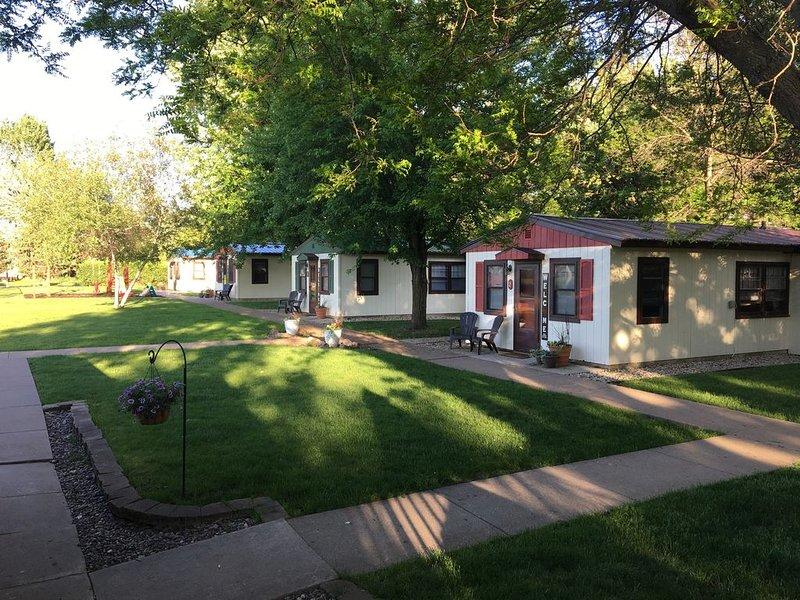 Cabin get away, fishing, kayaking, biking, vacationing, reunions, pet friendly, holiday rental in Winona