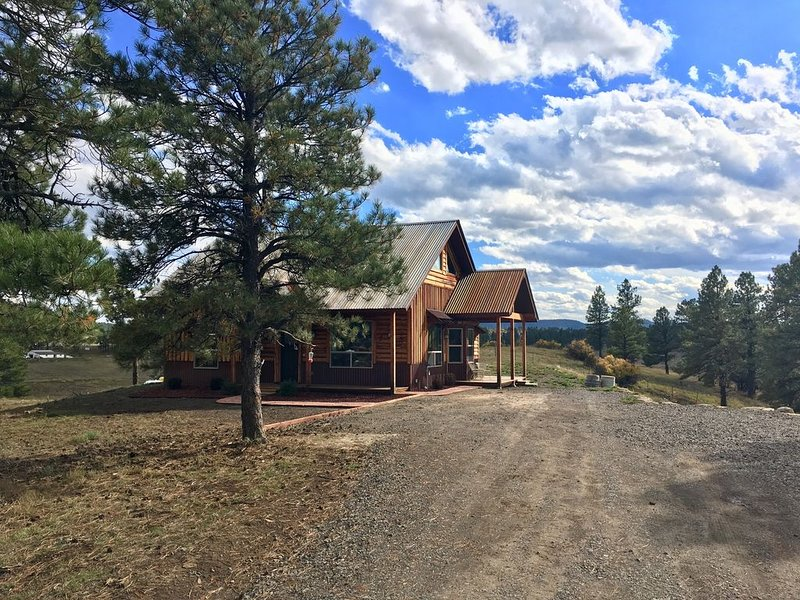 Loma Ponderosa - Luxury Cedar Cabin on 3 Private Acres, alquiler de vacaciones en Pagosa Springs