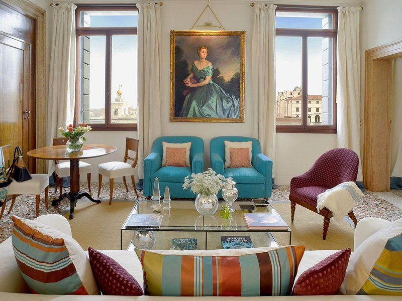 Dreamy Luxury Grand Canal Salute Views Terrace San Marco AC Service Washer Wi, vacation rental in Giudecca