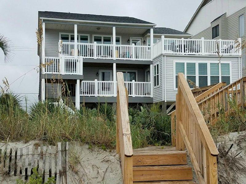 Vue de la Muth Beach House de l'océan