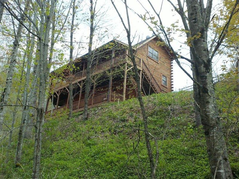 Glens of Antrim Mountain Cabin, vacation rental in Waynesville
