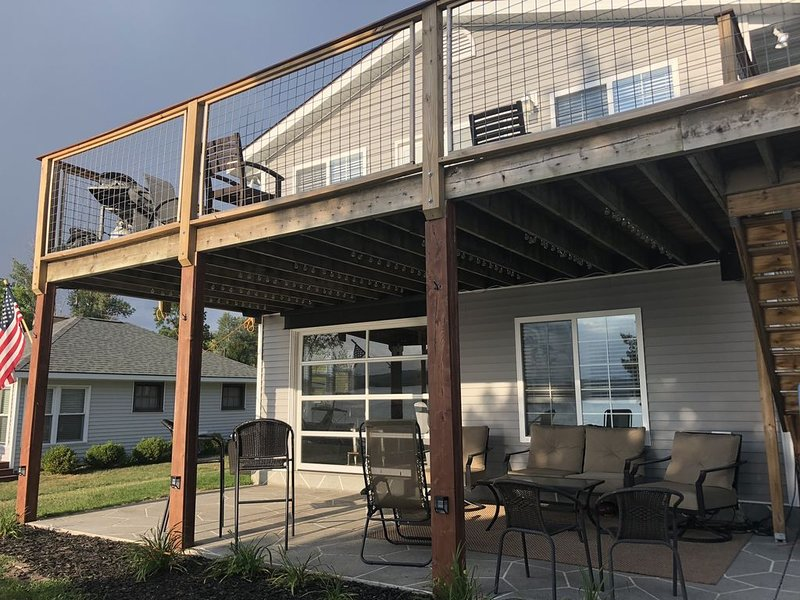 Patio extérieur et terrasse