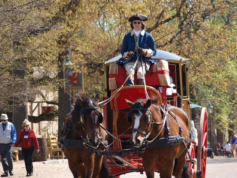 Busch Gardens, 'William & Mary' ,  Water Country USA,  Wyndham Patriot's Place, alquiler de vacaciones en Williamsburg