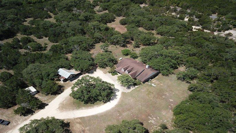 Luchtfoto van House on 5 Acres