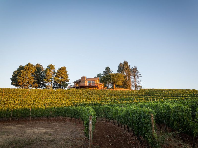 Luxury Wine Country Retreat, alquiler de vacaciones en Yamhill