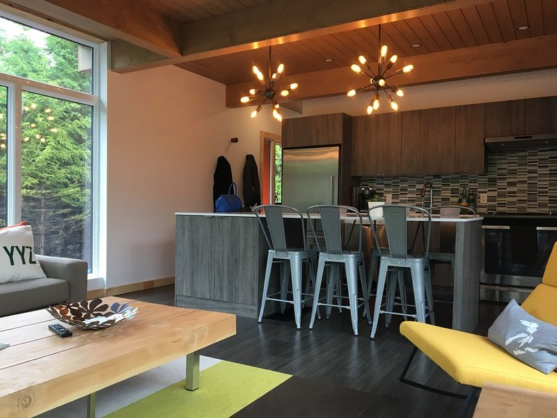 modern lodge - a luxury rental in the county, holiday rental in Waupoos