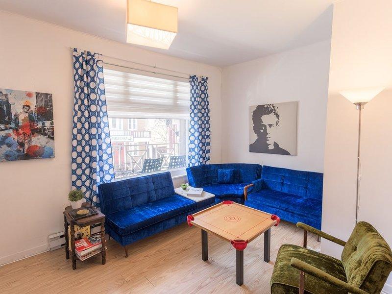 Great apartment in downtown La Malbaie., location de vacances à Kamouraska