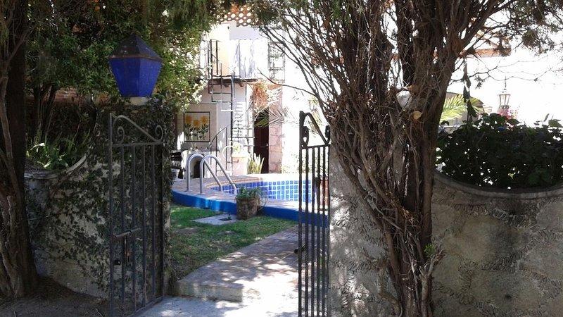 Back/Main Entrance from San Benito