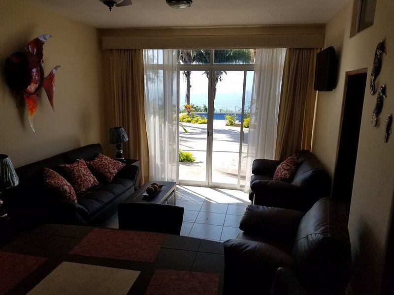 1-Bedroom Ocean View Condo 207  at Vista Encantada, location de vacances à Tepic