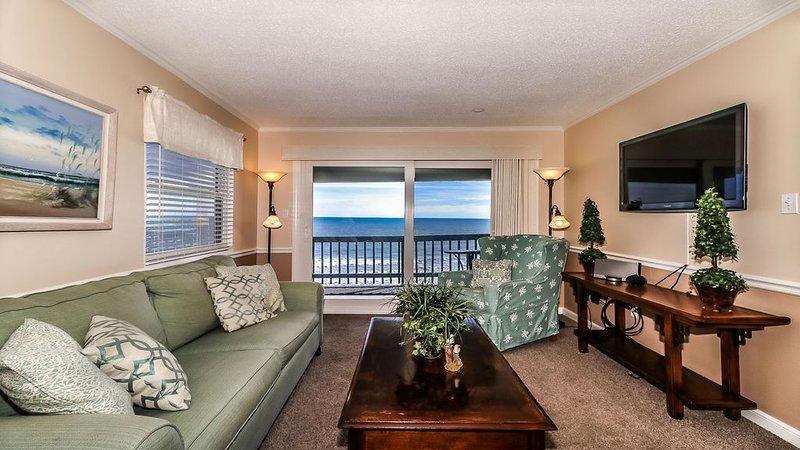 On the Beach/Great Golf! Garden City Murrells Inlet Myrtle Beach 3bed/3bath W/D, location de vacances à Murrells Inlet