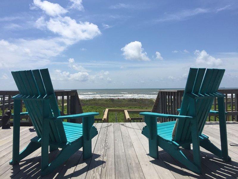 Ocean Front Gulf Coast - Enchanted Shell in Surfside Beach Texas, alquiler de vacaciones en Freeport