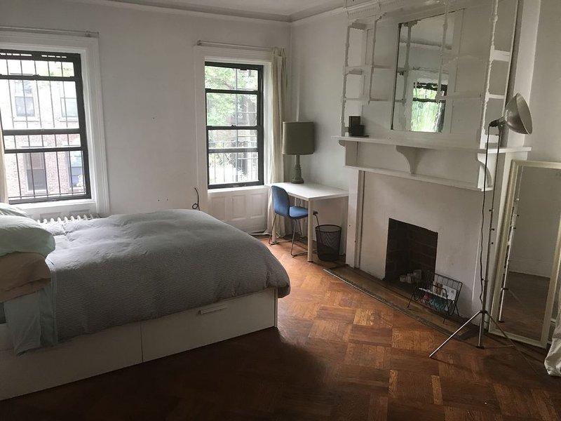 HUGE bedroom in gorgeous apt in the lovely neighborhood of fort Greene., holiday rental in Brooklyn