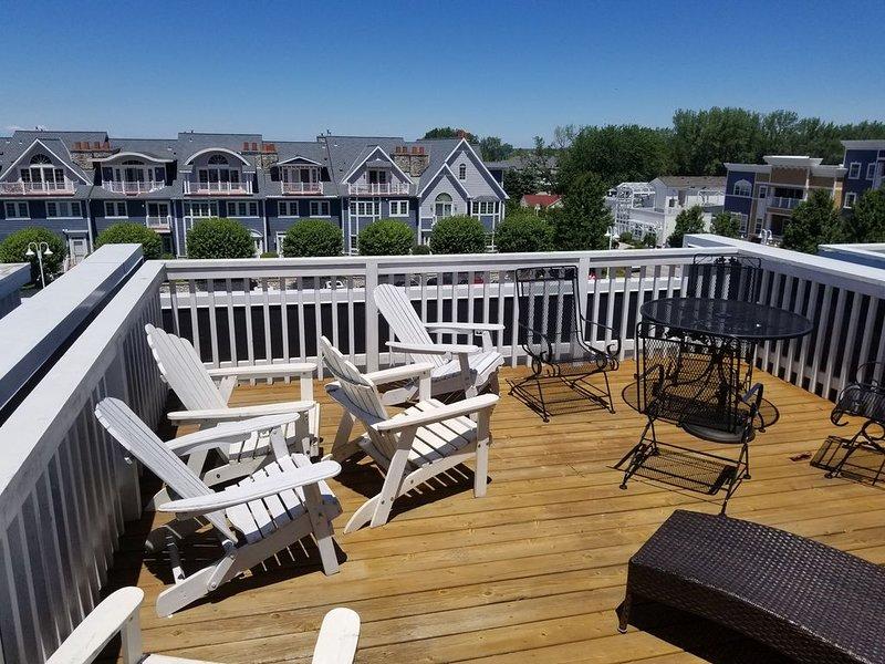 Vacation in paradise 3 BR, 2.5 bath, decks, patio, private pool access, alquiler de vacaciones en New Buffalo