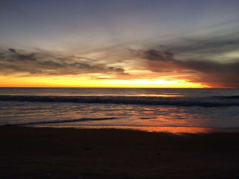 Another awesome sunset at the beach.