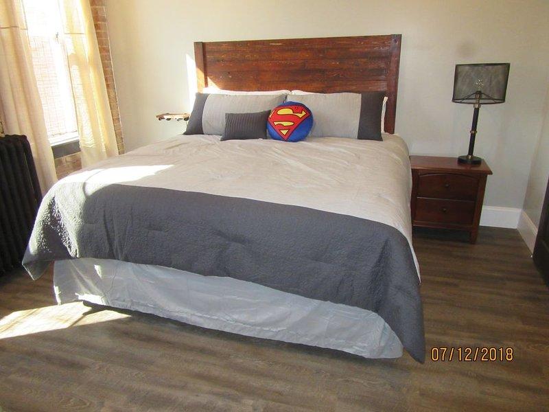 Great location in the Historic Downtown of Metropolis, Home of Superman, alquiler vacacional en Paducah