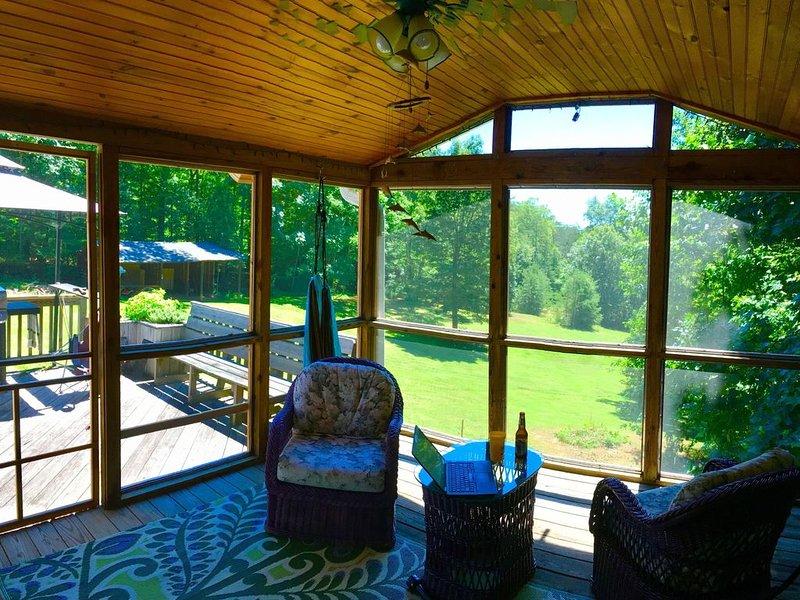 On The Rocks - Lake Lure Mountains, holiday rental in Vein Mountain
