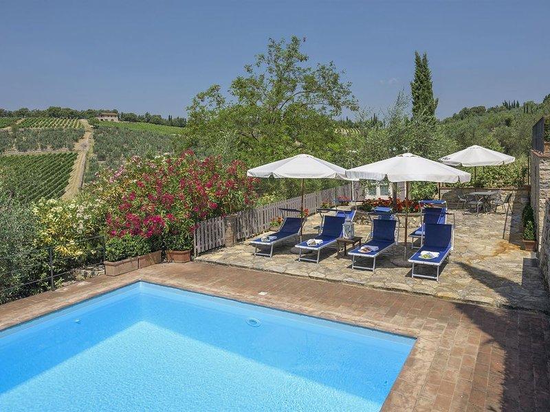 Vecchio Frantoio, Gaiole in Chianti, Siena and Chianti, holiday rental in Gaiole in Chianti