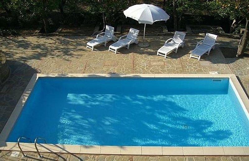Villa Fillide E, rimborso completo con voucher*: Un gradevole ed accogliente app, location de vacances à Sant'Agnello
