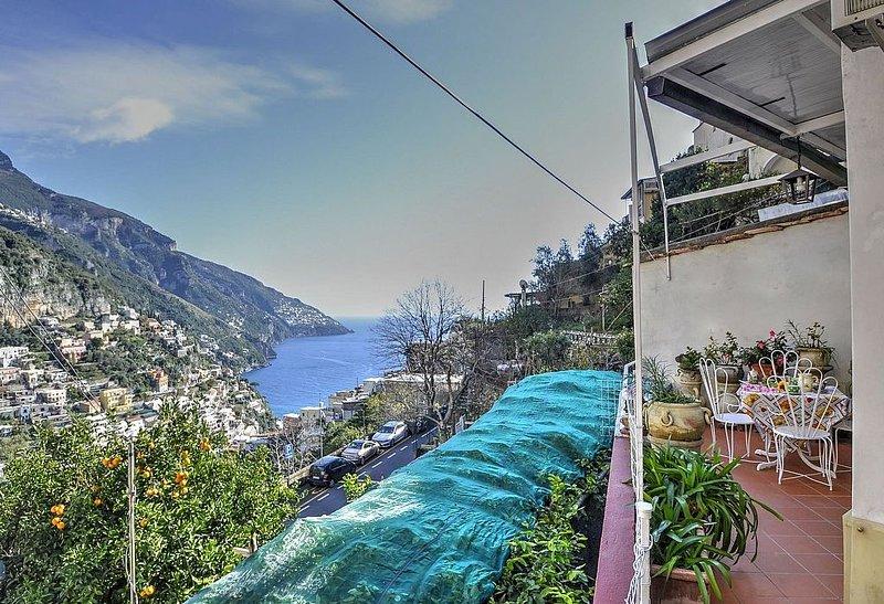 Casa Orazio, rimborso completo con voucher*: Una gradevole ed accogliente casa i, Ferienwohnung in Positano