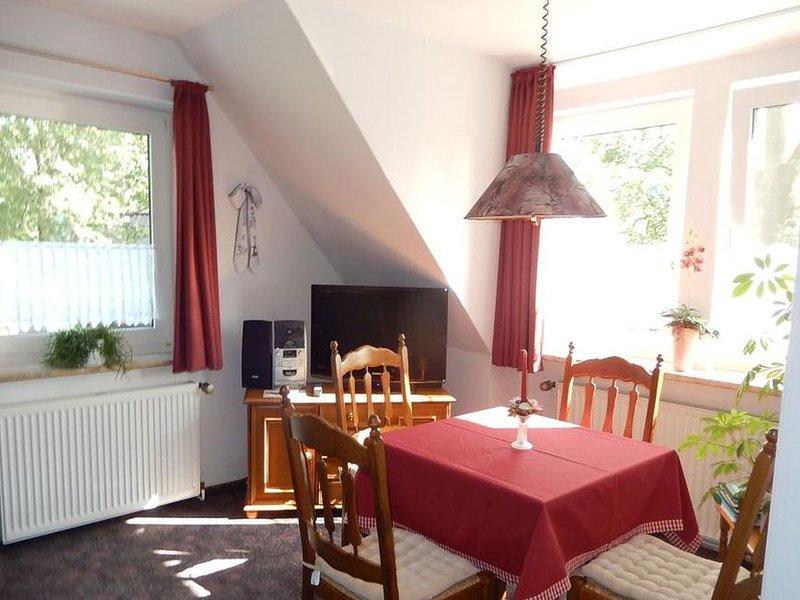 Ferienwohnung 50qm, 1 Schlafzimmer, max. 2 Personen, casa vacanza a Wangerland