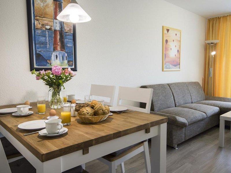 A2.1 - Wunderschöne helle Ferienwohnung mit 2 Balkonen, strandnah für bis zu 6 P – semesterbostad i Cuxhaven