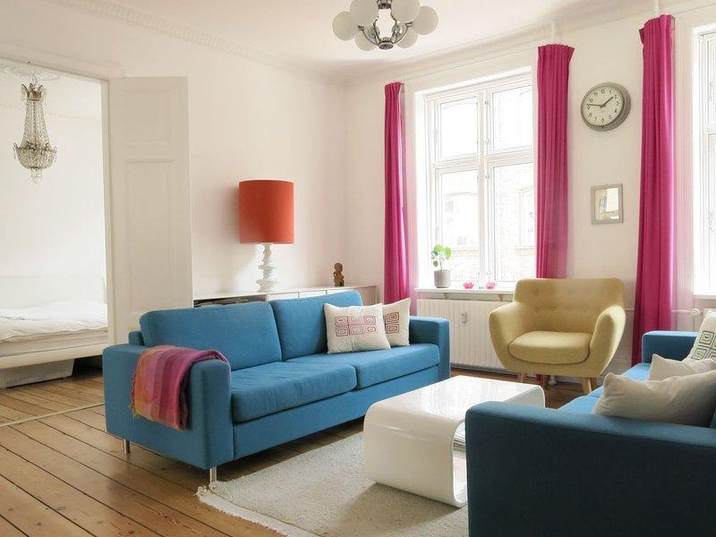 City Apartment in Kopenhagen mit 3 Schlafzimmern 6 Schlafplätzen, Ferienwohnung in Kopenhagen